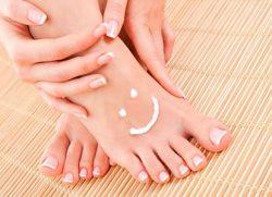 Ухаживайте за своими ножками антисептическими кремами