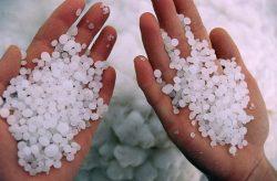 Белая морская соль
