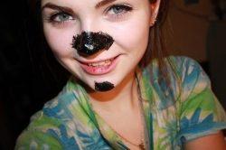 Не запускайте свой нос, а то на нем появятся черные точки