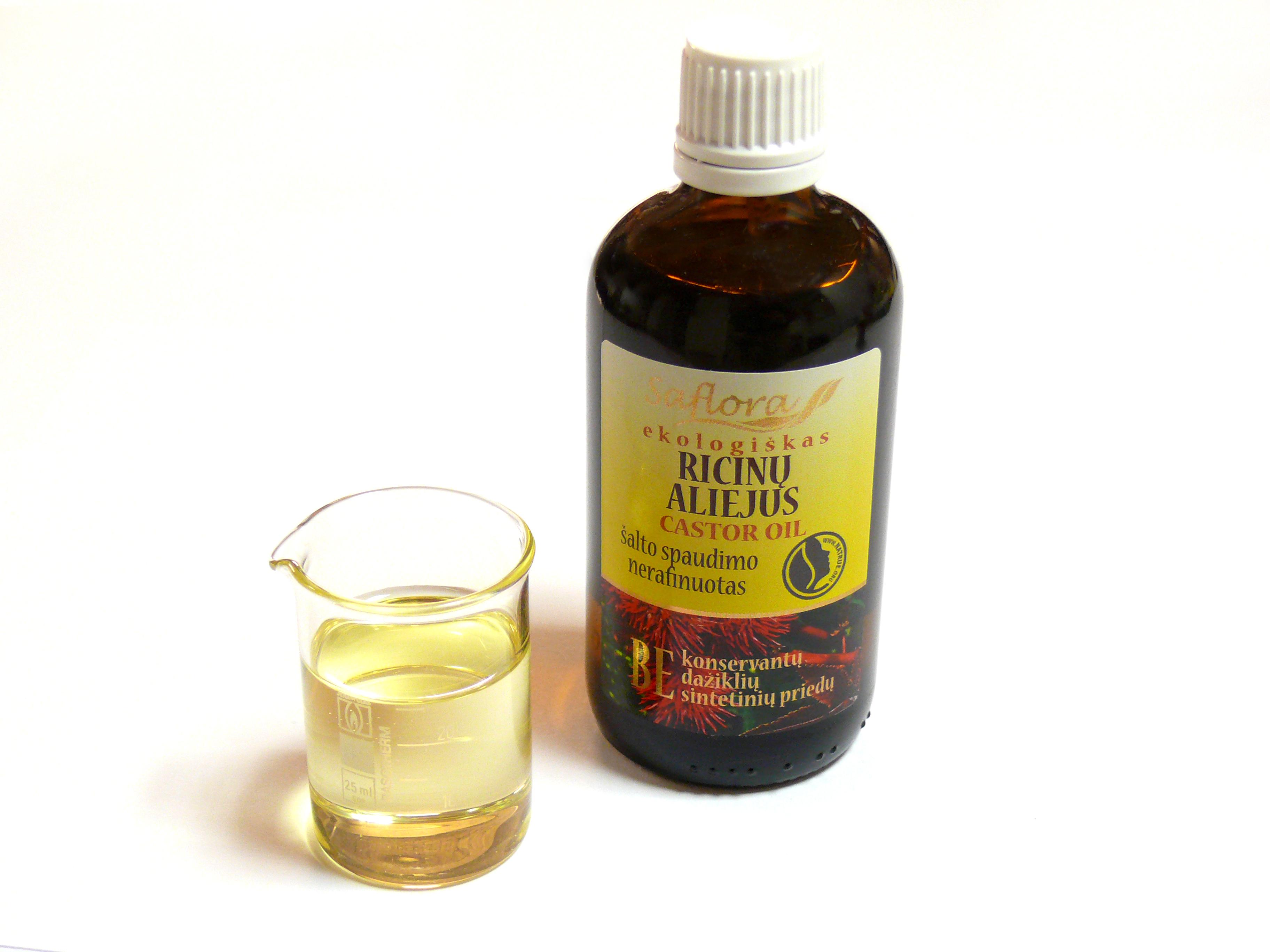 касторовое масло от глистов у телят