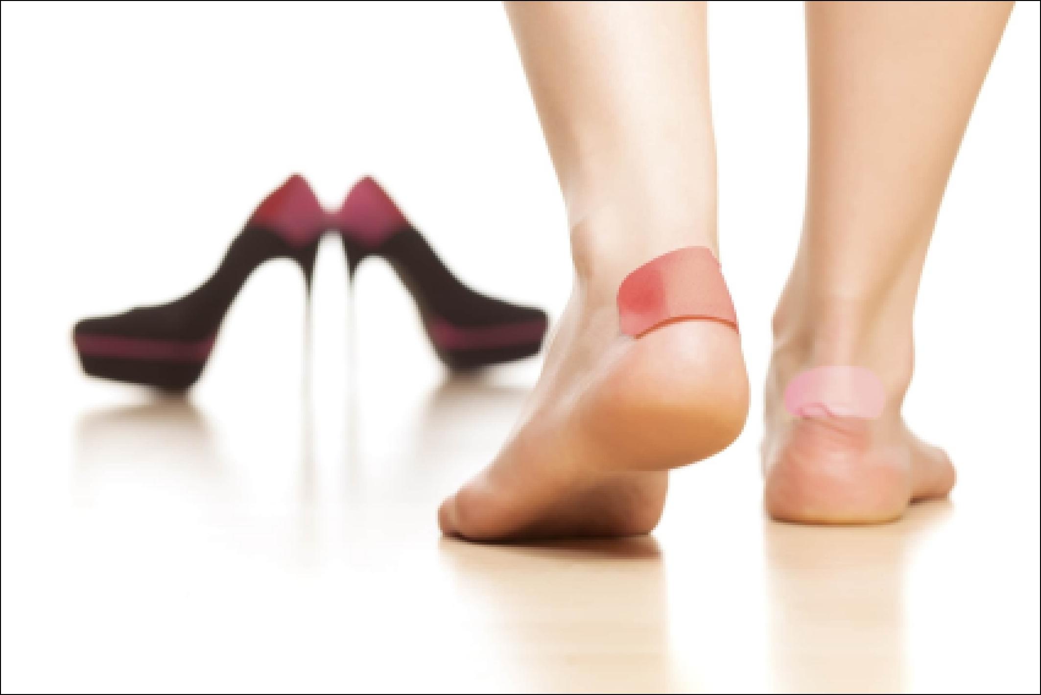 Как сделать так чтоб туфли не натирали