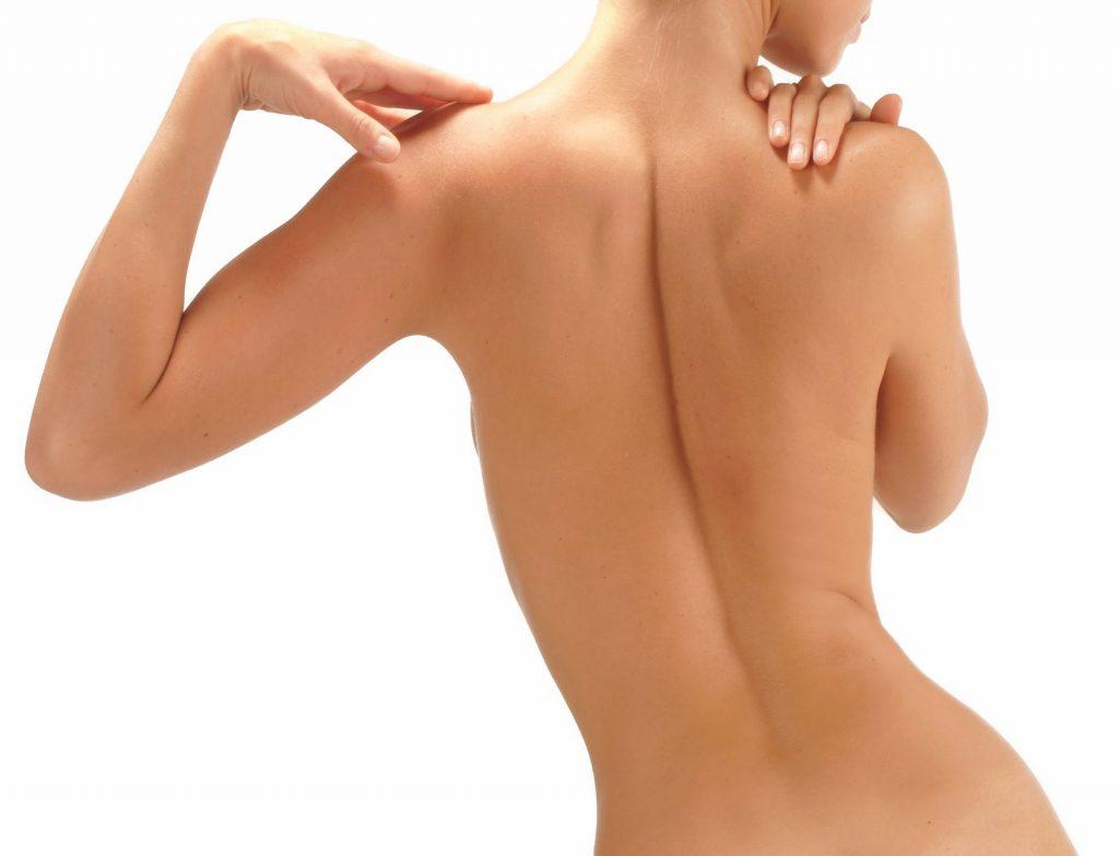 Как сделать спину женственной