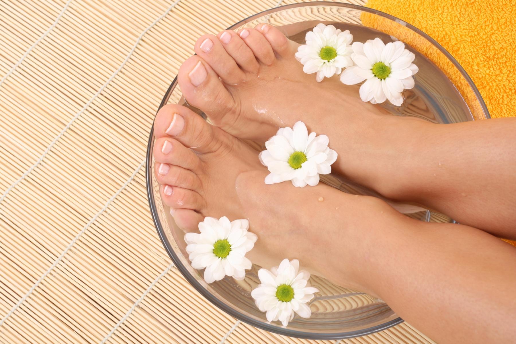 Как сделать ванночки для ног в домашних  938